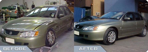 Accident Case Study - Holden Commodore