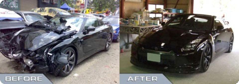 Accident Case Study - Nissan GTR