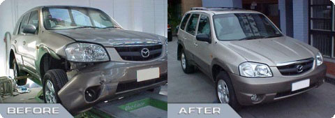 Accident Case Study - Mazda 4WD