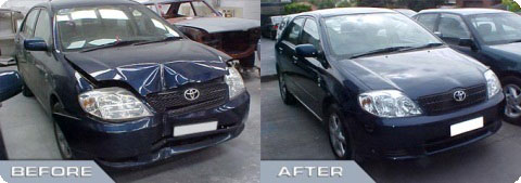 Accident Case Study - Toyota Corolla